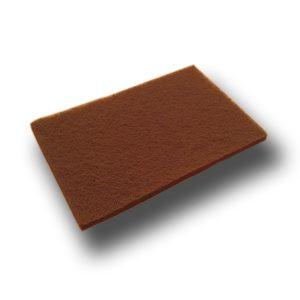 Estropajo abrasivo rojo Zaphiro