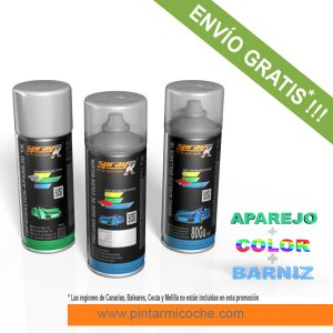 KIT SPRAY BASIC PLUS 1K SPRAYR