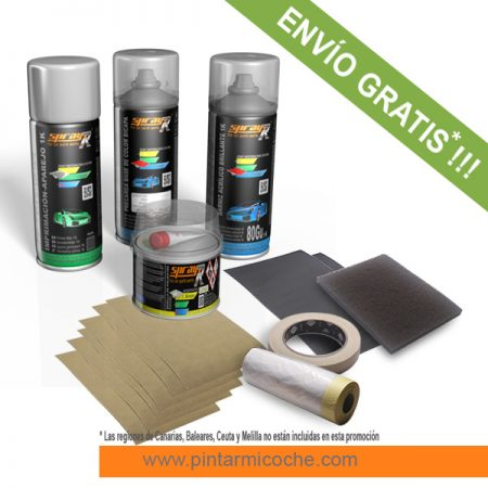 KIT SPRAY PREMIUM 1K SPRAYR