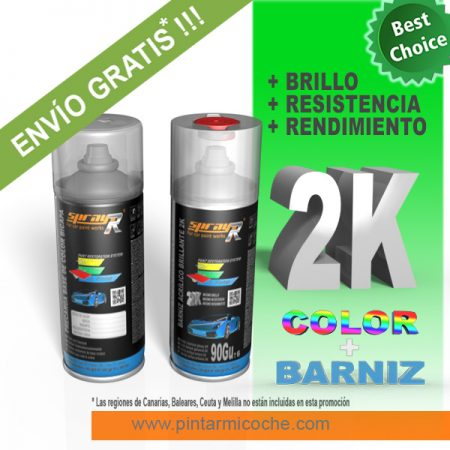 KIT SPRAY BASIC 2K SPRAYR
