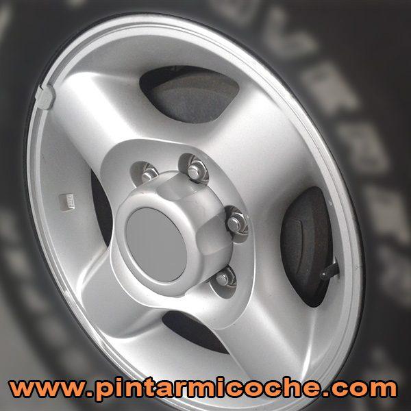 ejemplo de aplicación aluminio llantas Zaphiro