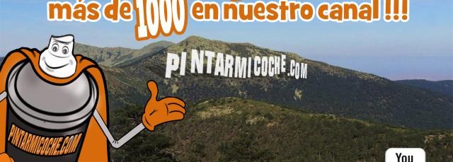 AGRADECIMIENTO 1000 SUSCRIPTORES YOUTUBE