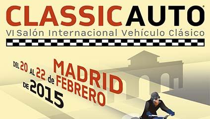 Cartel ClassicAuto Madrid 2015
