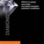 pintura efecto diamond