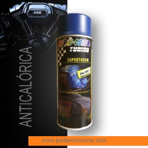 Pintura anticalórica supertherm blue Duplicolor 400ml