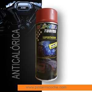 Pintura anticalórica Supertherm Red Duplicolor 400ml