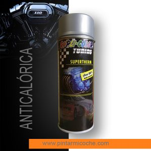 Pintura anticalórica supertherm silver Duplicolor 400ml