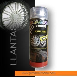 Wheel Paint Protective Clearcoat Duplicolor 400ml. Barniz para llantas