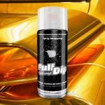 spray vinilo liquido cromado dorado
