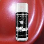 spray vinilo líquido rojo metalizado