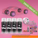 pack x 4 spray vinilo liquido colores candy
