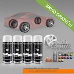 pack x 4 spray vinilo liquido colores metalizados
