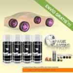 pack x 4 spray vinilo liquido colores perlados