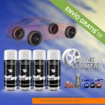 pack x 4 spray vinilo liquido colores thermocromic