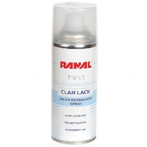 LACA MATE 1K SPRAY RANAL 400ml