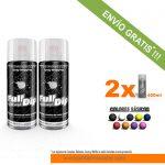 pack x 2 spray vinilo liquido sólidos