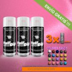 pack x 3 spray vinilo liquido candy