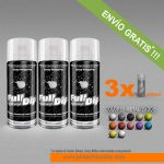 pack x 3 spray vinilo liquido metalizados