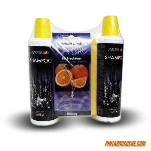 SHAMPOO WASH AND SHINE 2x500ml MOTIP