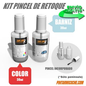 kit pincel de retoque