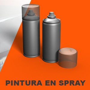 PINTURA EN SPRAY DACIA