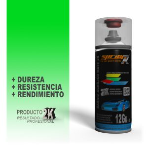 SPRAY BARNIZ ACRÍLICO MATE 2K SPRAYR 400ml