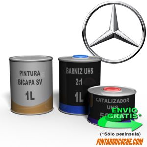 KIT PINTURA BICAPA 1000 MERCEDES