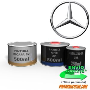 KIT PINTURA BICAPA 500 MERCEDES
